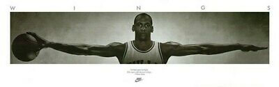 MICHAEL JORDAN WINGS POSTER Huge 6ft Wide HOT NEW
