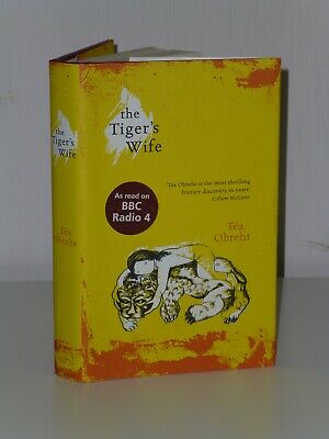 SIGNED DATED LOCATED 1st Print The Tiger's Wife Tea Obreht W&N 2011 UK HB Inland