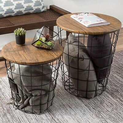 Pleasant 4D Concepts Slate Top Nesting Tables 123 10 Picclick Alphanode Cool Chair Designs And Ideas Alphanodeonline