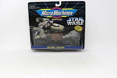 1994 Galoob Star Wars Micro Machines Collection #4 A New Hope MOC