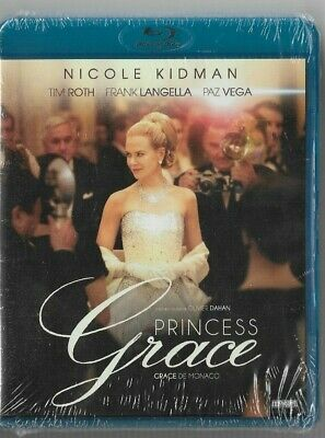 New Sealed Blu-Ray Disc  - PRINCESS GRACE -  Also In French