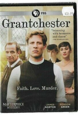 Sealed New DVD - PBS - GRANTCHESTER - MASTERPIECE MYSTERY