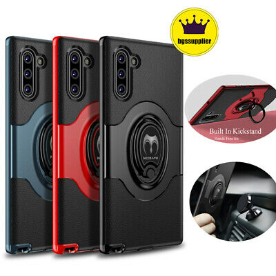 For Samsung Galaxy Note 8 9 Note 10 Plus Shockproof Case Ring Holder Hard Cover