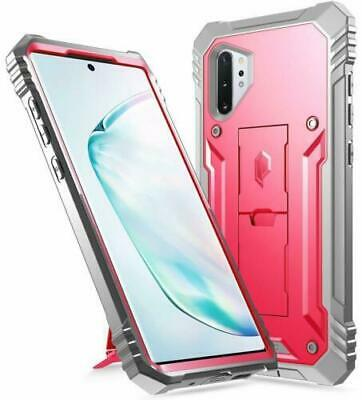 Galaxy Note 10 Plus ,Poetic® Dual Layer Shockproof Case Cover w/Kickstand Pink