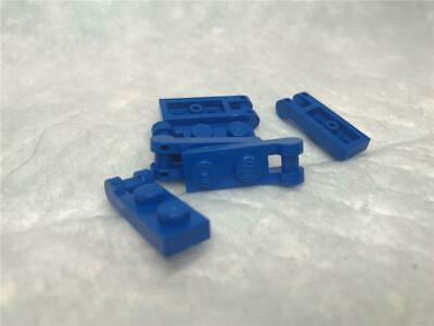 Closed Ends 60478 DK BL GRAY 10 Modified 1 x 2 w Handle Plate LEGO Parts~