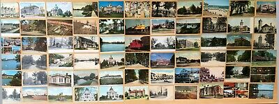 Big Collection of 122 Antique & Vintage Postcards ALL NEW JERSEY Various Towns
