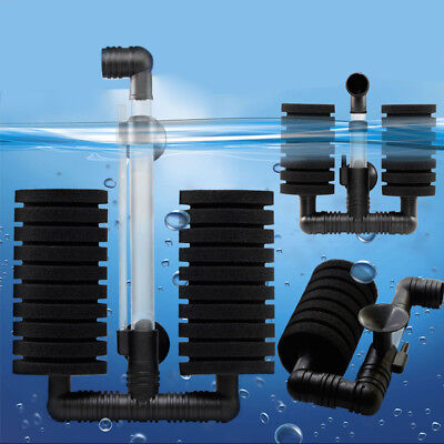 Practical Aquarium Biochemical Sponge Filter Fish Tank Air Pump Durable Filter
