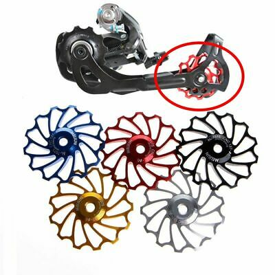 Riding Cycling Stainless Steel Bearing Rear Derailleur 13T Pulley Wheel Bike