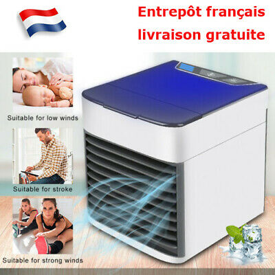 Mini Climatiseur Ventilateur d'air Portable Domestique Artic Air Cooler Fr