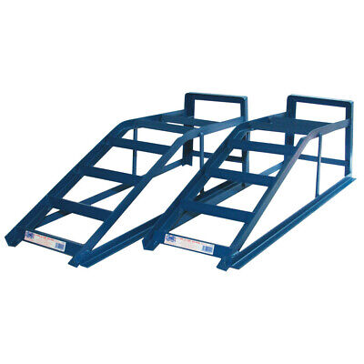 Cougar CRW25 2.5 Tonne Wide Car Maintenance Lifting Equipment Ramps Pair