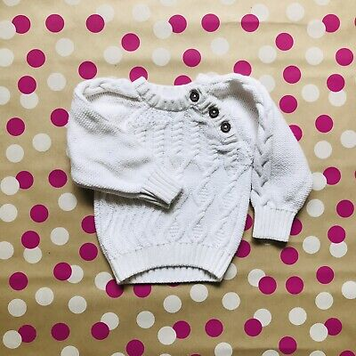 Baby Cable Knit Jumper - Size 0000
