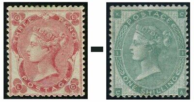1862-1864 Surface Printed Sg 75-Sg 90 Average Used Condition Single Stamps