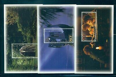 New Zealand - Sc# 1750a-55a. 2001 Lord of the Rings. Sheets of 1. MNH $36.00.