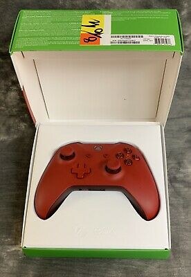 Microsoft Xbox One S Wireless Controller - Red W/ Xbox Game Pass