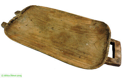 Zulu Carved Meat Tray Platter Ugqoko South African Art