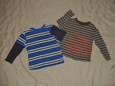Lot Of Two Baby Boys Size 3T Long Sleeved Shirts