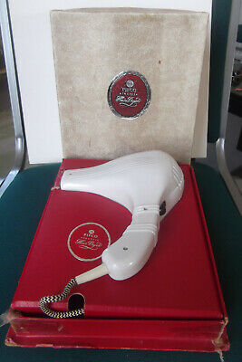 True Vintage Pifco Hair Dryer With Fabulous Original Fitted Box - Pat Tested