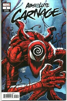 Absolute Carnage #1 (2019 Marvel) Ron Lim Variant Edition Cover NM