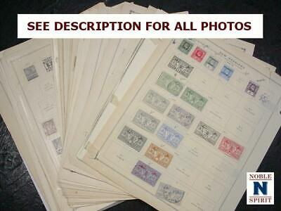 NobleSpirit  NO RESERVE (GS) Worldwide Mixed Pages Lot Czech, Montenegro,