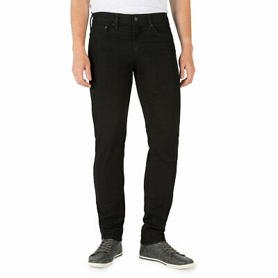 Signature By Levi Strauss & Co. Gold Label Mens Gothic Black Skinny Denim Jeans