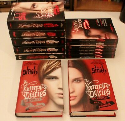 L.J.Smith -  The Vampire Diaries  Set of 13 Inc.The Hunters Volume 1 & 2