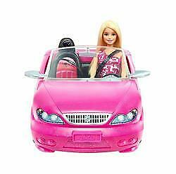 Barbie Glam Convertible Car with Doll