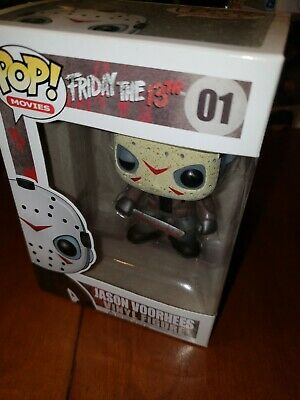 Funko Pop! Movies: Friday the 13th JASON VOORHEES #1 horror
