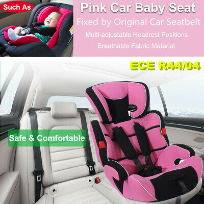 Pink Convertible Baby Infant Children Kid Car Safety Seat Booster Chair 9 -