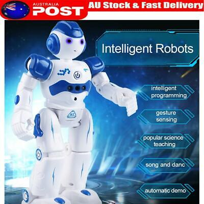 Intelligent Robot Charging Moving Dancing Boy Remote Control Robot Toy For Kids