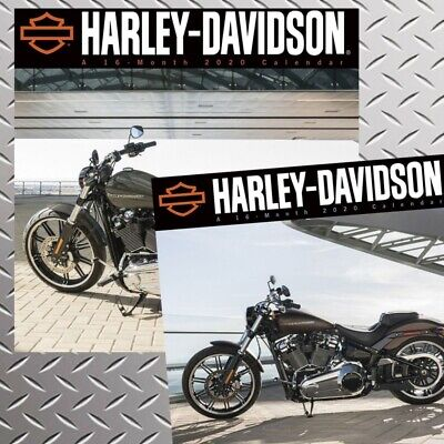 Calendars.com, 2020 Harley Davidson 2020 Mini Wall Calendar Bundle - Full Color