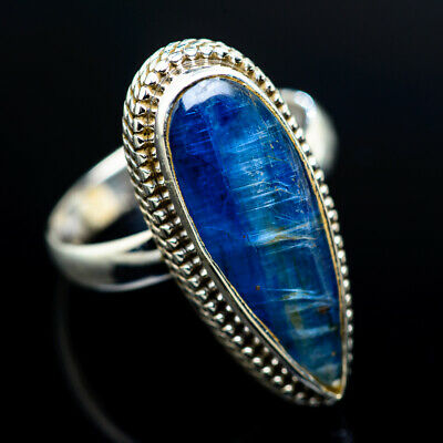 Large Kyanite 925 Sterling Silver Ring Size 9 Ana Co Jewelry R962101F