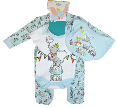 "BABY BOY / GIRL DISNEY ""DUMBO"" LAYETTE SET - 0-3m, 3-6m, 6-9m"