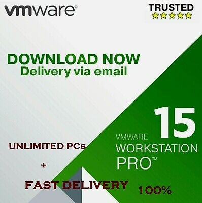 VMware Workstation 15 Pro LIFETIME KEYS OFFICIAL 2019 FAST EMAIL DELIVERY