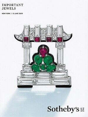 IMPORTANT JEWELS: Sotheby's  Top-Katalog N.Y. June 19 +results