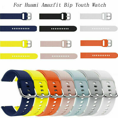 Breathable Silicone Watch Strap Wrist Band For Xiaomi Huami Amazfit Bip Youth