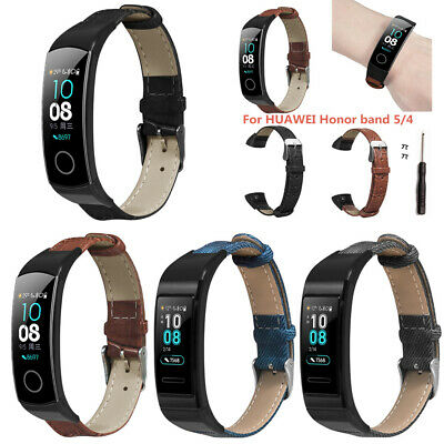 For Huawei honor 5 4 Smart Watch Band Bracelet Wristband Leather Wrist Strap