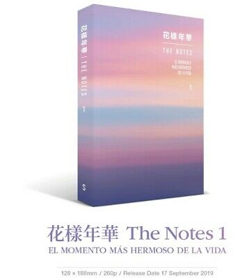 [Pre-order] BTS HYYH THE NOTES 1 (SPANISH ver.)  + Pre-order Gift+ Tracking