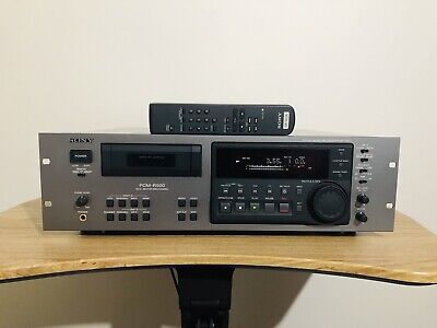 Digital Audio Tape DAT Deck Player Recorder Sony PCM-R500 with Remote