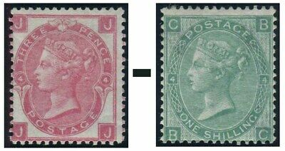 1865-1867 Surface Printed Sg 92-Sg 101 Average Used Condition Single Stamps