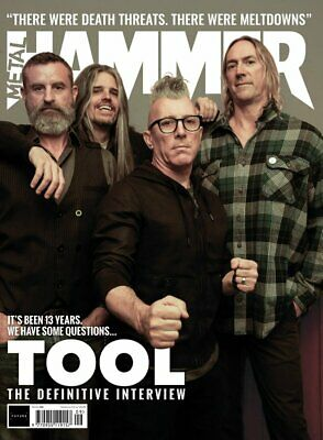 METAL HAMMER magazine #326: TOOL - The Definitive Interview + 16 Page Bonus Mag