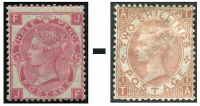 1867-1880 Surface Printed Sg 102-Sg 121 Average Used Condition Single Stamps