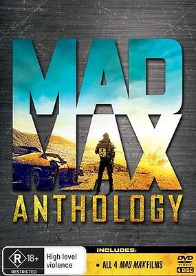 MAD MAX Anthology : Movie 1 2 3 4 : NEW DVD