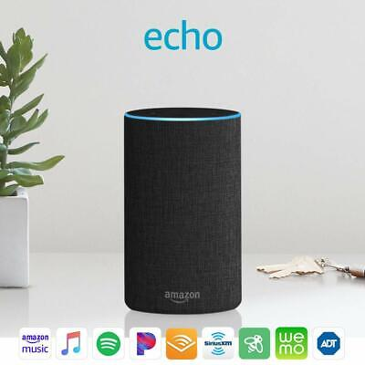 Echo (2nd Generation) - Smart speaker with Alexa and Dolby processing -