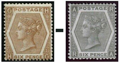 1872-1873 Surface Printed Sg 122-Sg 125 Average Used Condition Single Stamps
