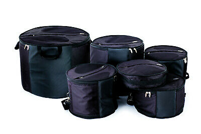 Ritter Tom/ Floor Tom Drum Gig Bag Padded Soft Carrying Case With Shoulder Strap