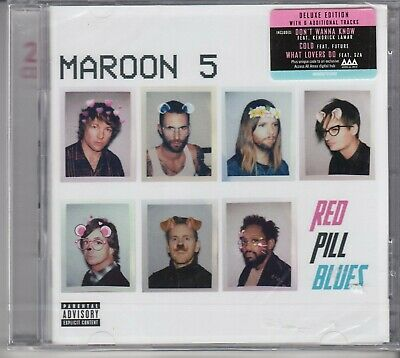 MAROON 5 Red Pill Blues DELUXE EDITION 2-CD W LIVE DISC NEW SEALED HOLLAND