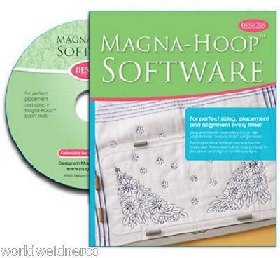 Designs IN Machine Embroidery Dime Magna-Hoop™ Software CD00101