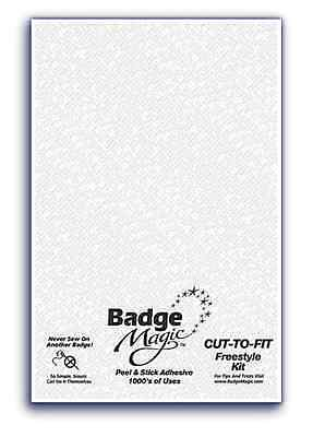 Badge Magic Instant Tela Parches Adhesivos Corte para Freestyle Kit Badgemagic