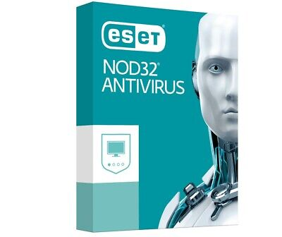 Eset nod32 Internet Security 2019 1 PC, 2 año, Global, ESD Antivirus