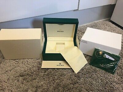 Rolex watch box...leather This Is The Last Off The Stock 6 Pieces